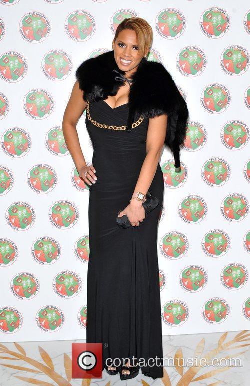 Jada Styles The Didier Drogba Foundation Charity Ball...