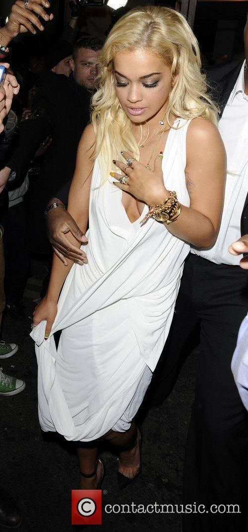 Rita Ora Jay Z and Kanye West's 'Watch...