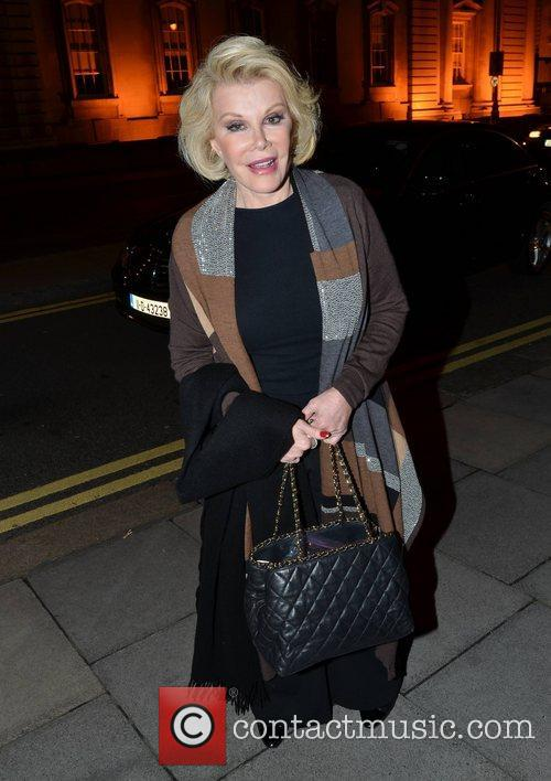 Joan Rivers and The Merrion Hotel 3