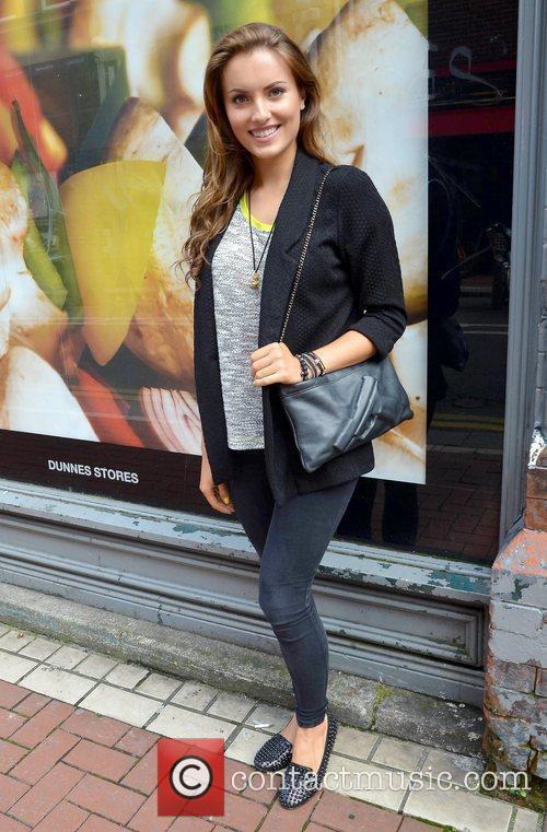 Miss Ireland 2011 Holly Carpenter The beauty walks...