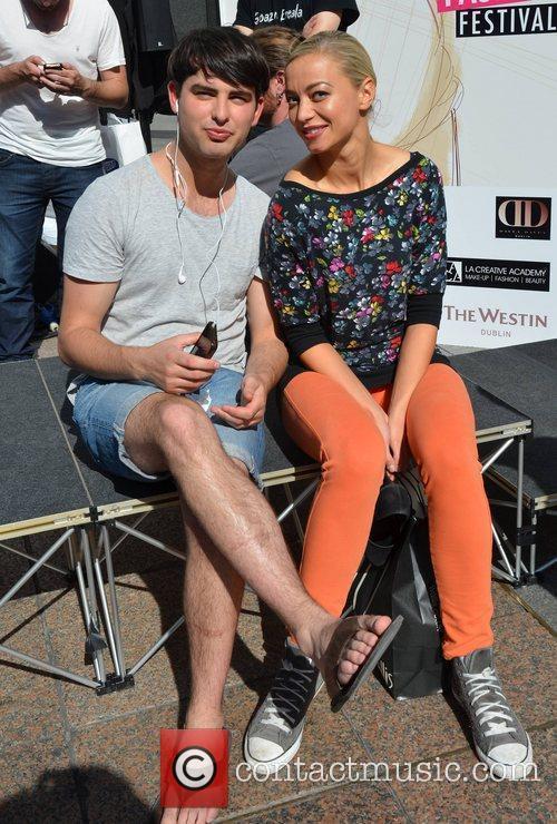 The Dublin Fashion Festival held on Henry Street