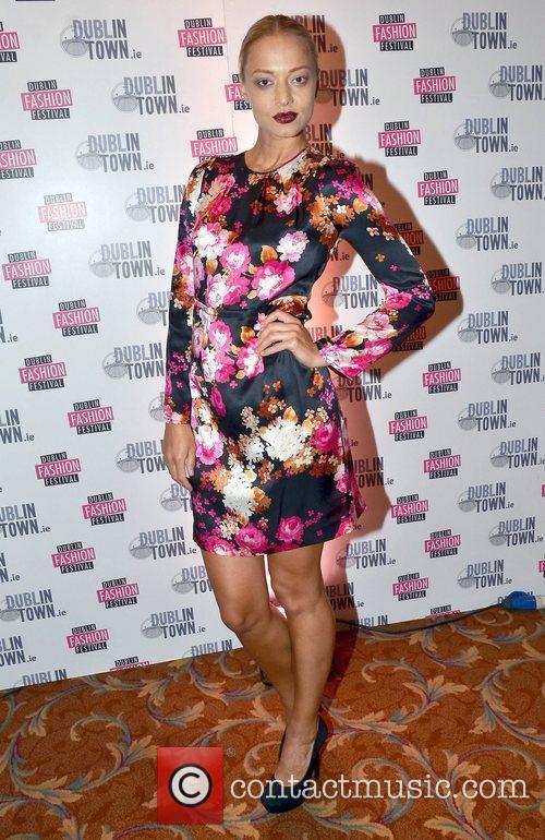 Irma Mali Amanda Byram launches the Dublin Fashion...