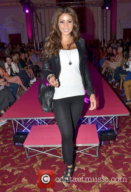 Layla Flaherty Amanda Byram launches the Dublin Fashion...