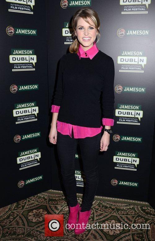 Amy Huberman Amy Huberman and Stellan Skardsgard launch...