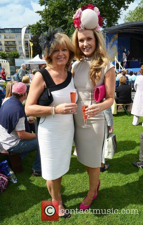 Aoibhin Garrihy and her mother Clare Garrihy Blossom...