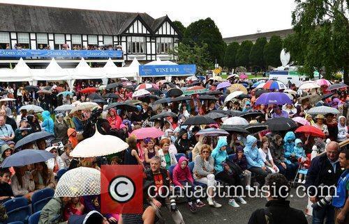 Atmosphere Blossom Hill Dublin Horse Show - Ladies...