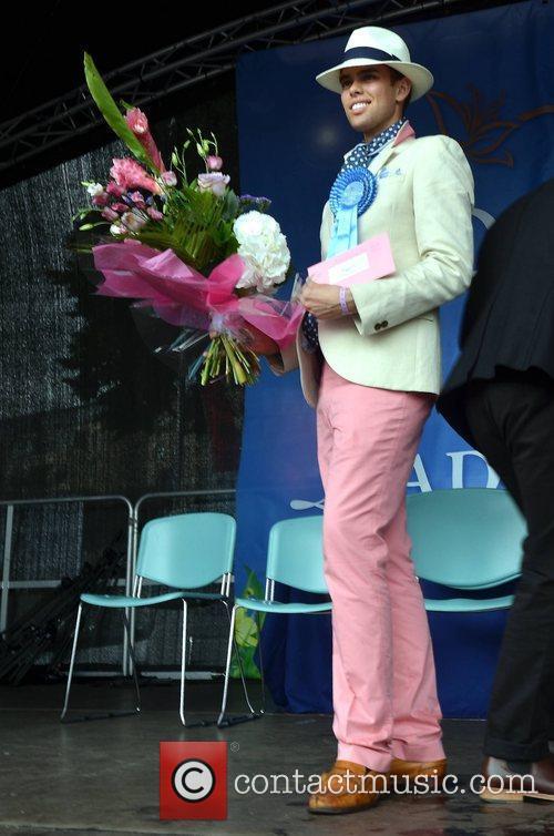 'Best Dressed Gentleman' winner Mark Flood Blossom Hill...