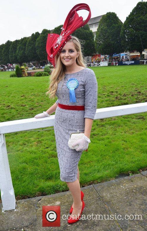 'Best Dressed Lady' runner- up Elaine Bury Blossom...