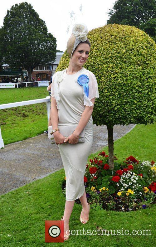 'Best Dressed Lady' winner Lucy Gilmore Murphy Blossom...