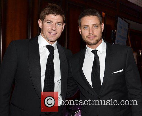 Steven Gerrard and Keith Duffy The Steven Gerrard...