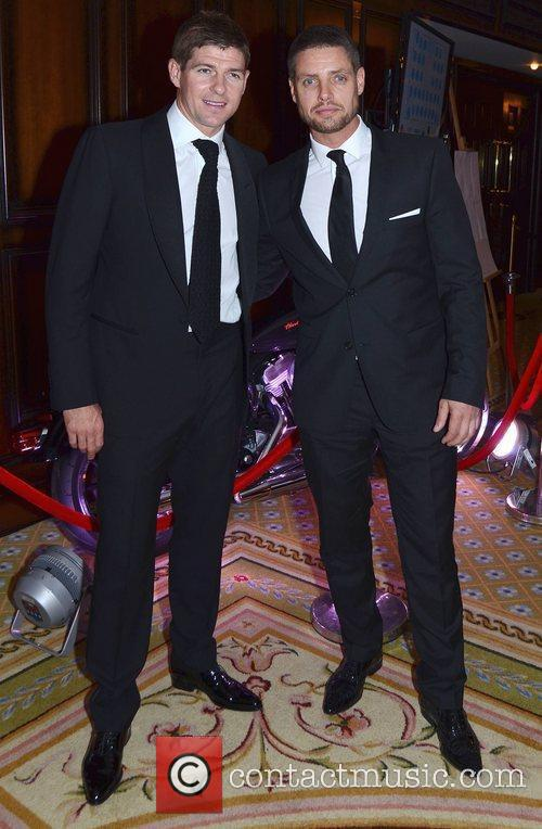 Steven Gerrard and Keith Duffy 1