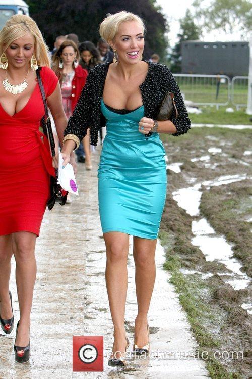 Aisleyne Horgan-Wallace arrives for the 2012 Duke of...