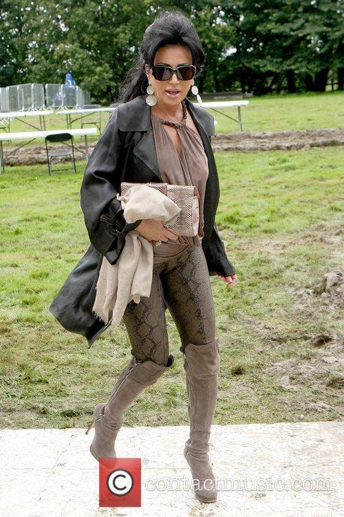 Nancy Dell'Olio arrives for the 2012 Duke of...