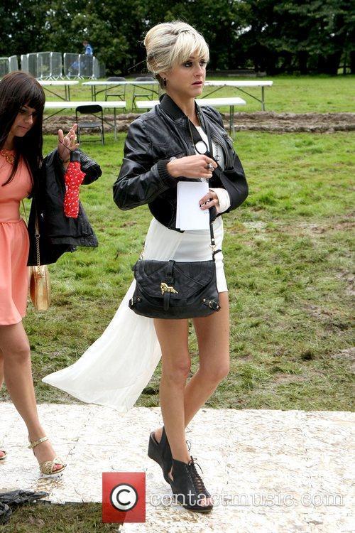 Nikki Grahame arrives for the 2012 Duke of...