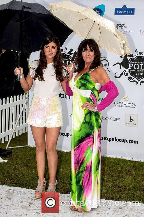 Vicki Michelle and daughter Louise Michelle arrive for...