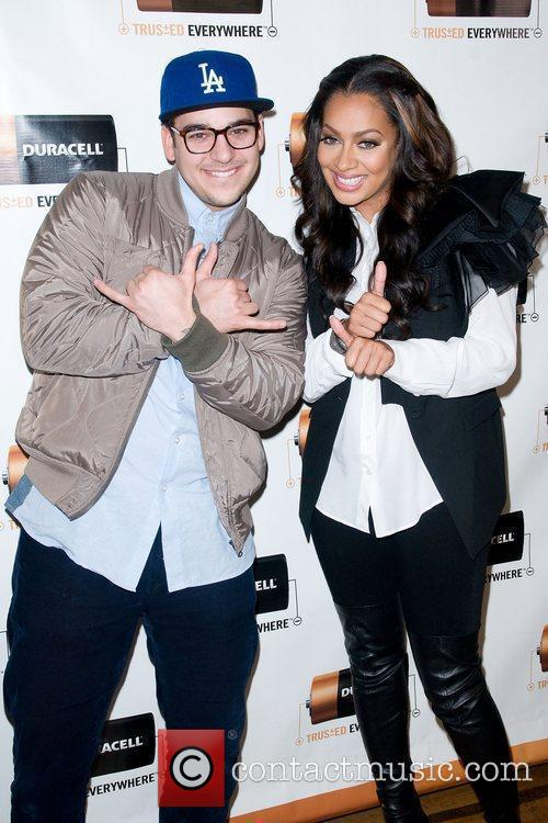Rob Kardashian and La La Anthony at the...