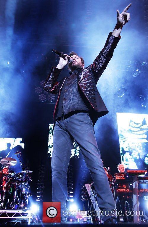 Duran Duran performing at Liverpool Echo Arena