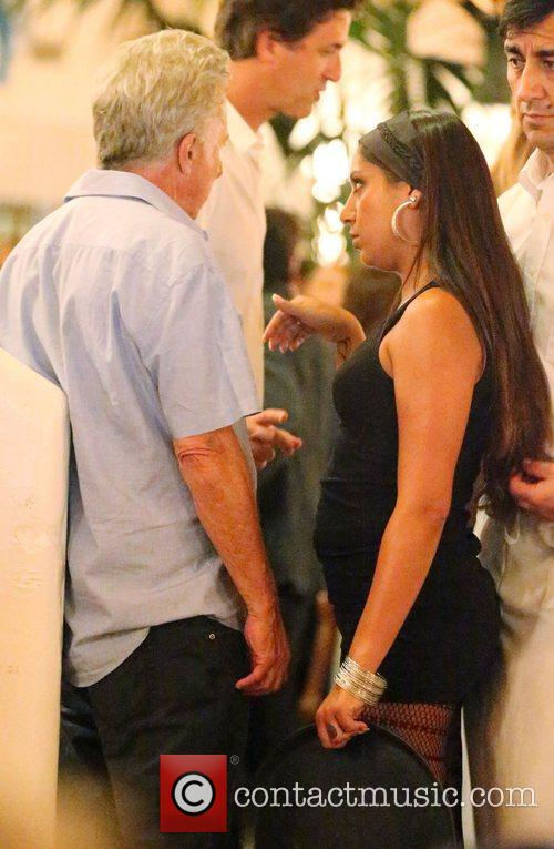 Celebrities attend Dustin Hoffman's 75th birthday party at...