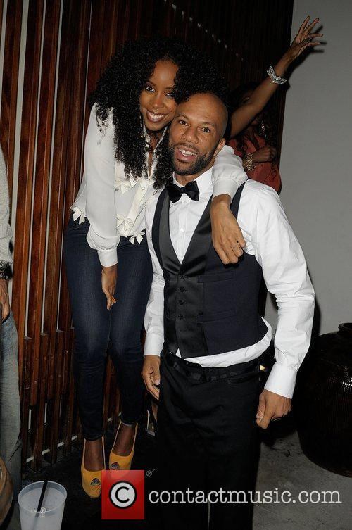 Kelly Rowland and Common 2
