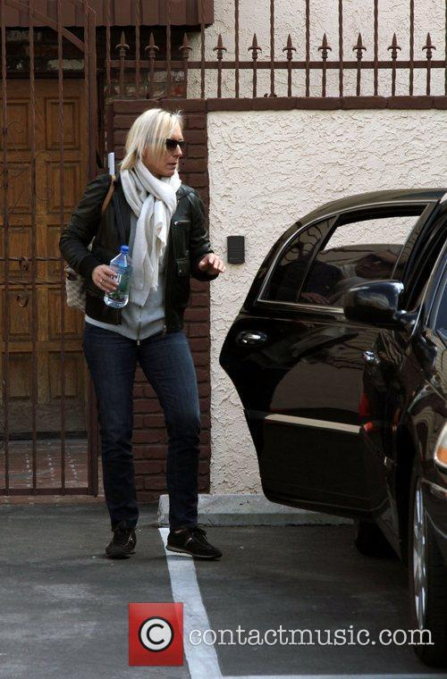 Martina Navratilova outside the 'Dancing With The Stars'...