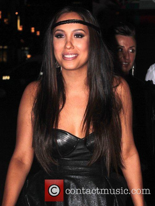 Cheryl Burke 'Dancing With The Stars' after party...