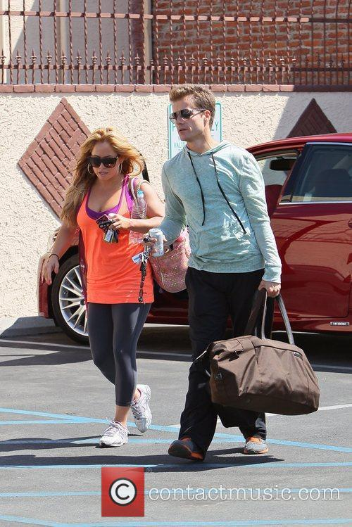 Sabrina Bryan and Louis Van Amstel 2