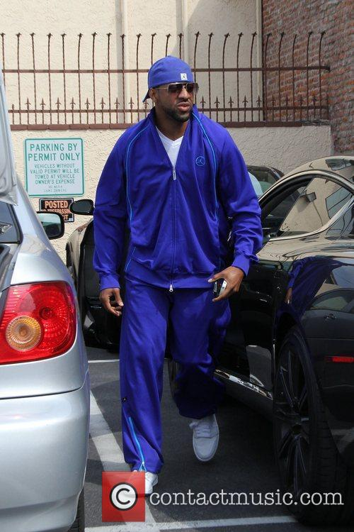 Jaleel White Celebrities arrive at the rehearsal space...