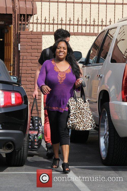 Sherri Shepherd and Val Chmerkovskiy Celebrities arrive at...
