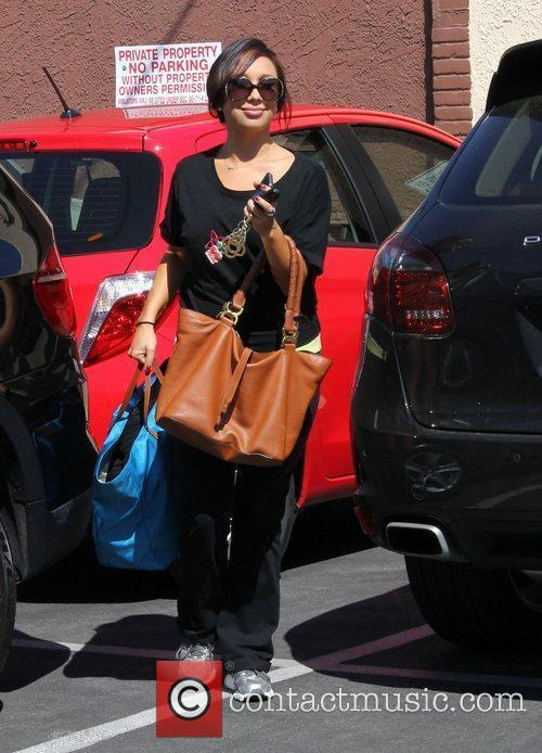 Cheryl Burke Celebrities arrive for 'Dancing With the...