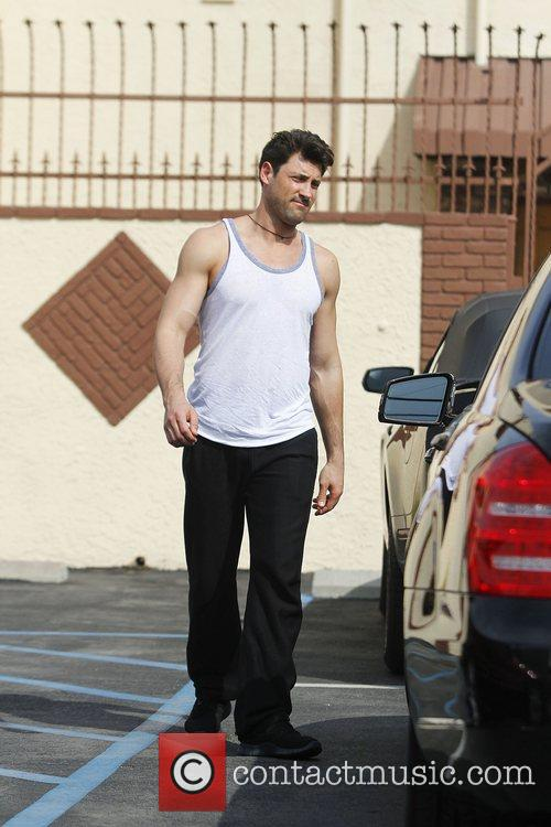 Celebrities arrive at the rehearsal space for 'Dancing...
