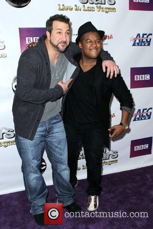 Joey Fatone and Kyle Massey 3