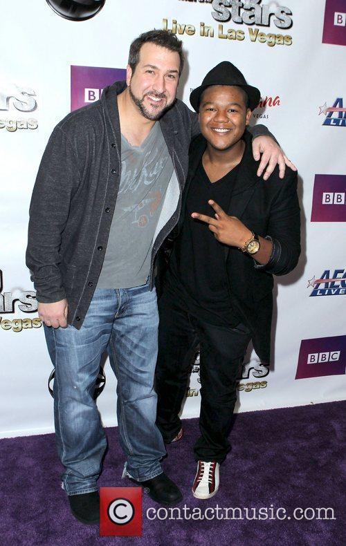 Joey Fatone and Kyle Massey 4