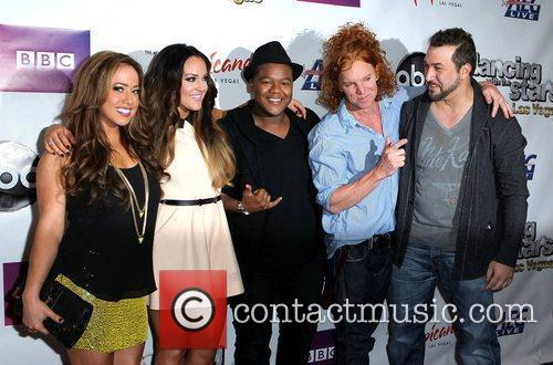 Sabrina Bryan, Carrot Top, Joey Fatone, Kyle Massey and Lacey Schwimmer 2