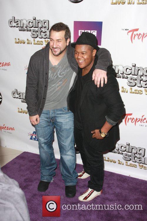 Joey Fatone and Kyle Massey 1
