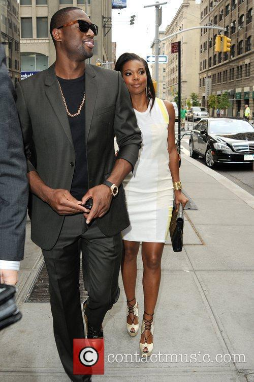 Gabrielle Union and Dwyane Wade 5