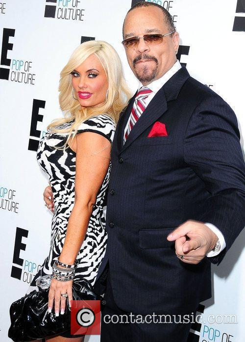 Ice-T and Coco,  at E! 2012 Upfront...