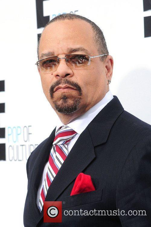 Ice-T,  at E! 2012 Upfront at NYC...