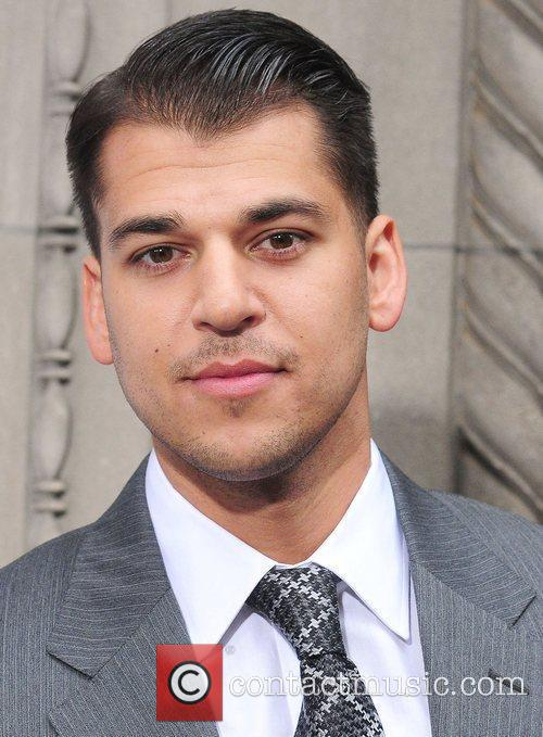 Rob Kardashian,  at E! 2012 Upfront at...