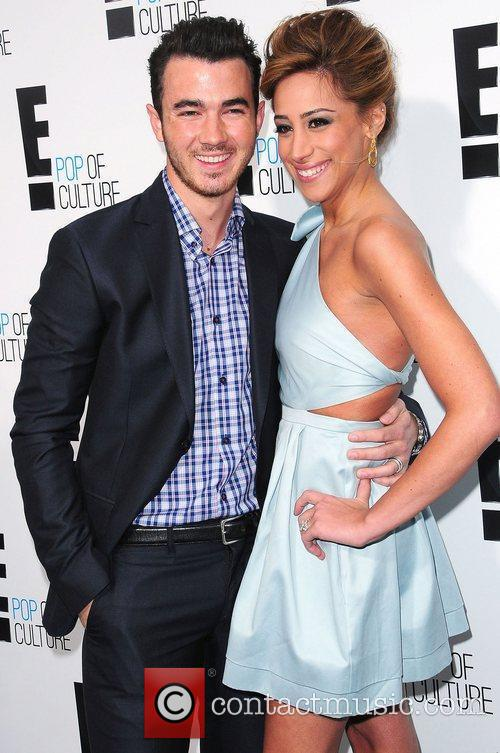 Kevin Jonas and Danielle Jonas,  at E!...