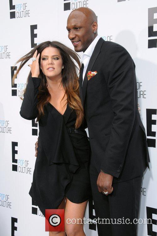 Khloe Kardashian, Lamar Odom, E! Upfront Presentation
