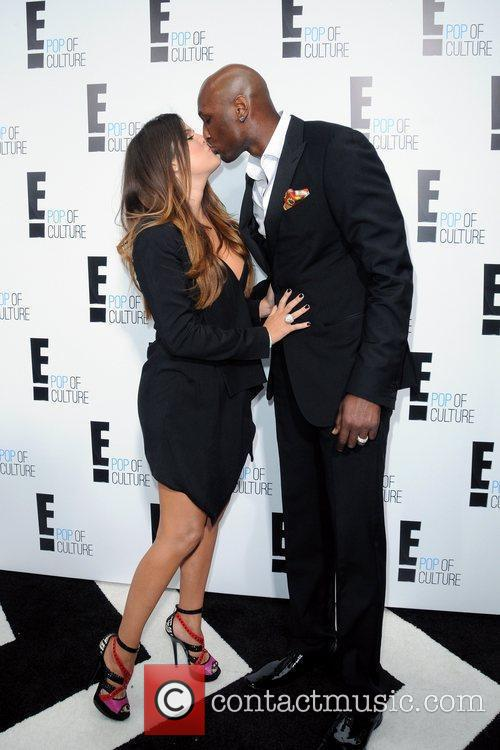 Kim Kardashian and Lamar Odom