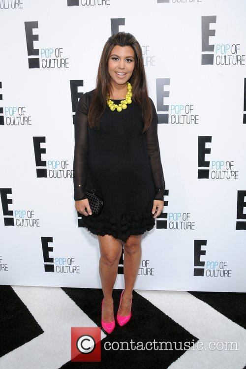 Kourtney Kardashian  2012 'E' upfront presentation -...
