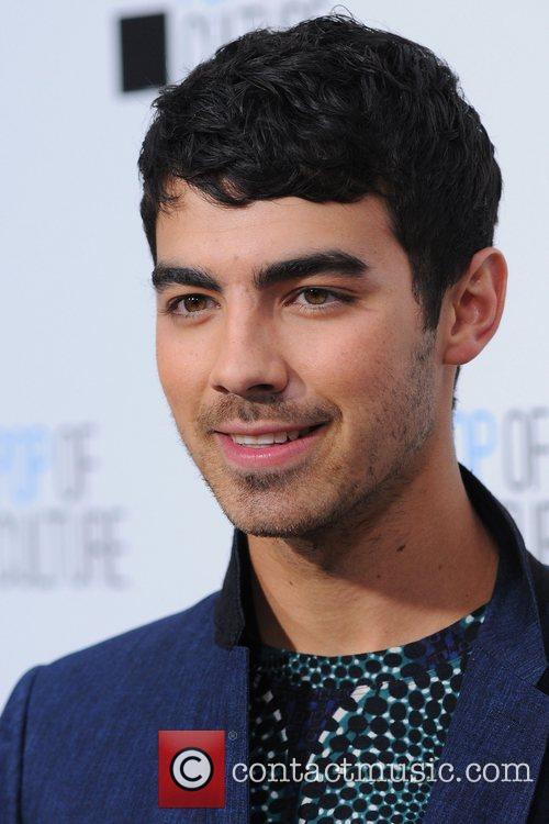 Joe Jonas 2012 'E' upfront presentation - Arrivals...