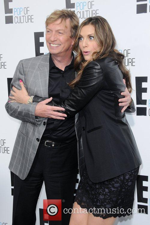 Nigel Lythgoe and Olivia Lee 2012 'E' upfront...