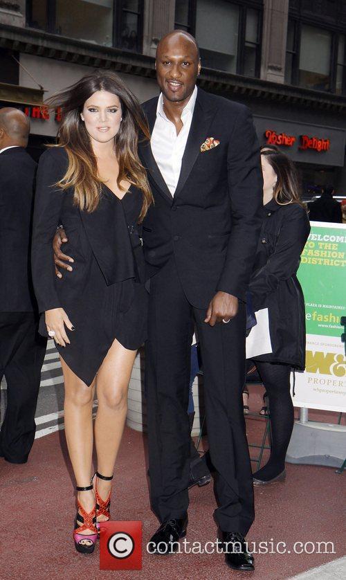 Khloe Kardashian and Lamar Odom 10