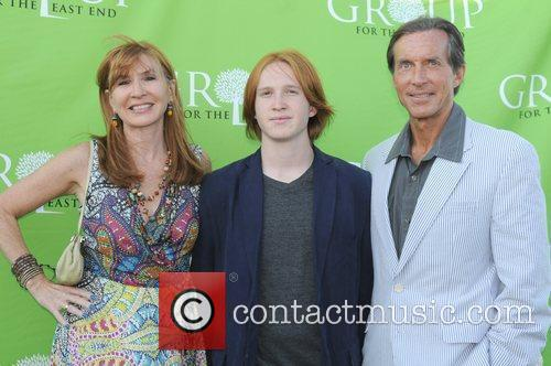 Nicole Miller, Palmer Taipale and husband Kim Taipale...