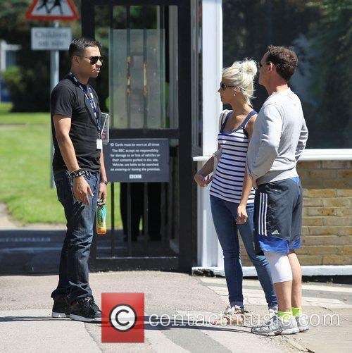 Ricky Norwood, Danielle Harold and Perry Fenwick The...