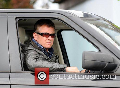 Shane Richie leaving the BBC Elstree Studios in...