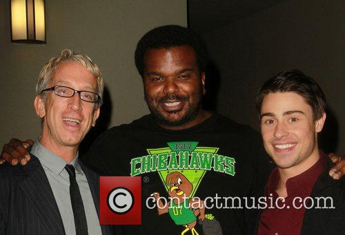 Andy Dick, Craig Robinson and Paris Dylan 7