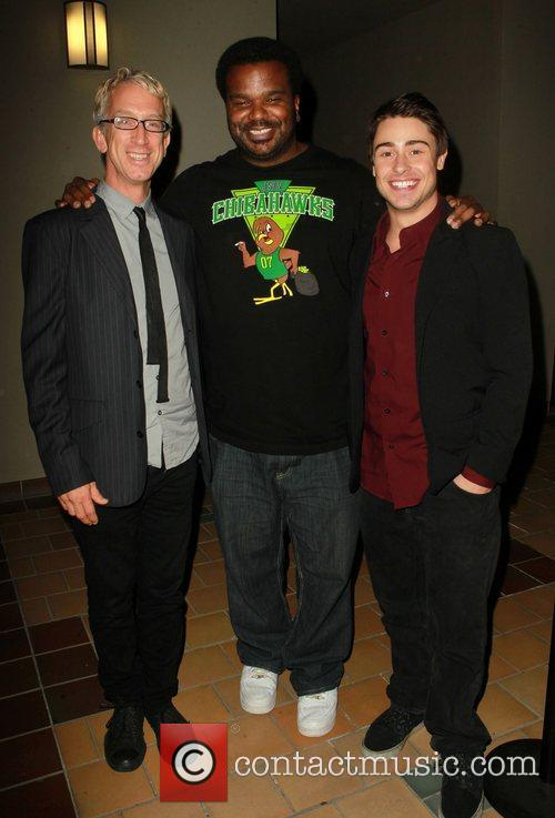 Andy Dick, Craig Robinson and Paris Dylan 8